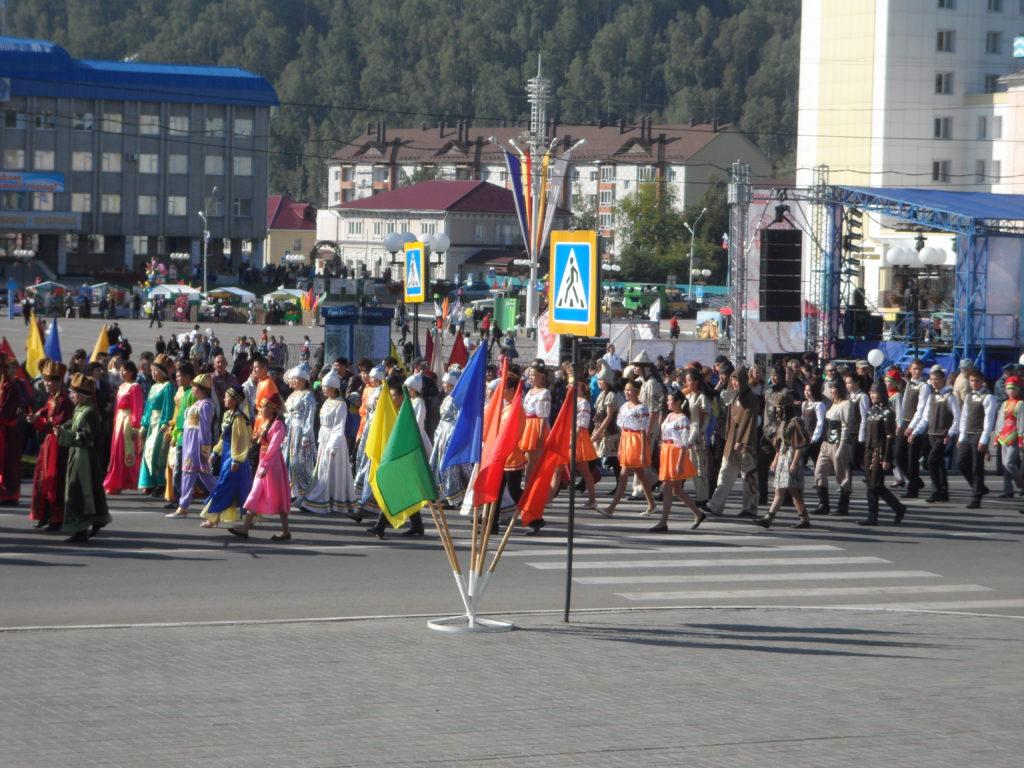 Республика Алтай. День города Горно-Алтайска.
