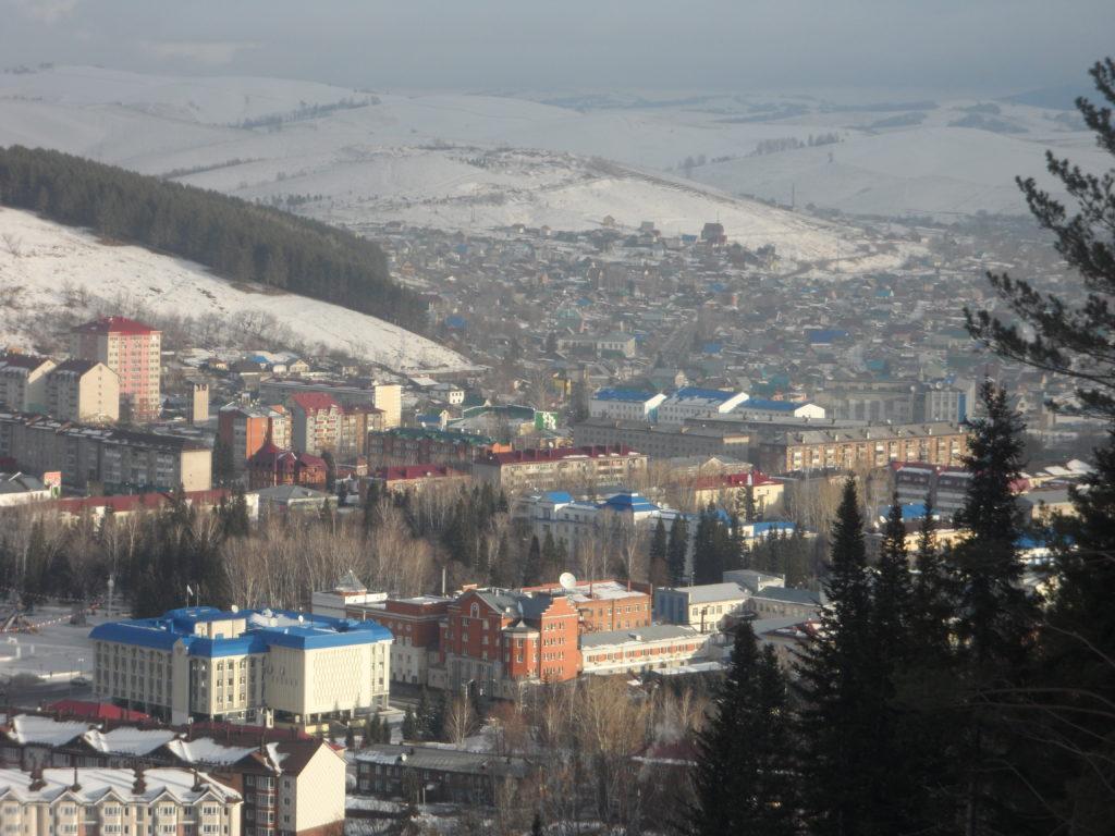Республика Алтай. Город Горно-Алтайск.