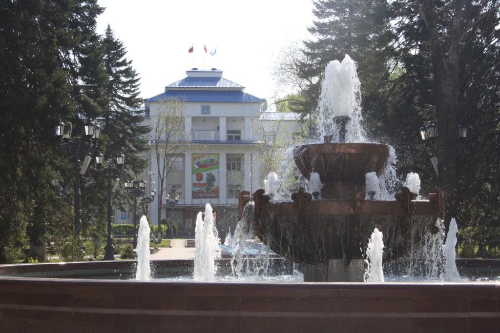 Здание Правительства Республики Алтай.