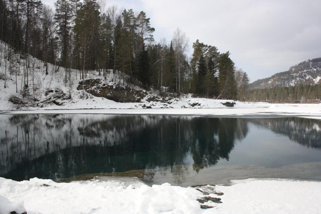 Алтай. Окрестности села Аскат. Голубые озёра, фотографии