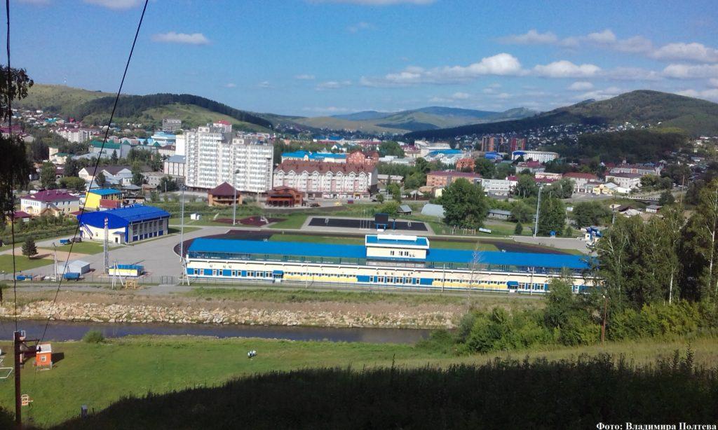 Горно-Алтайск - столица Республики Алтай.