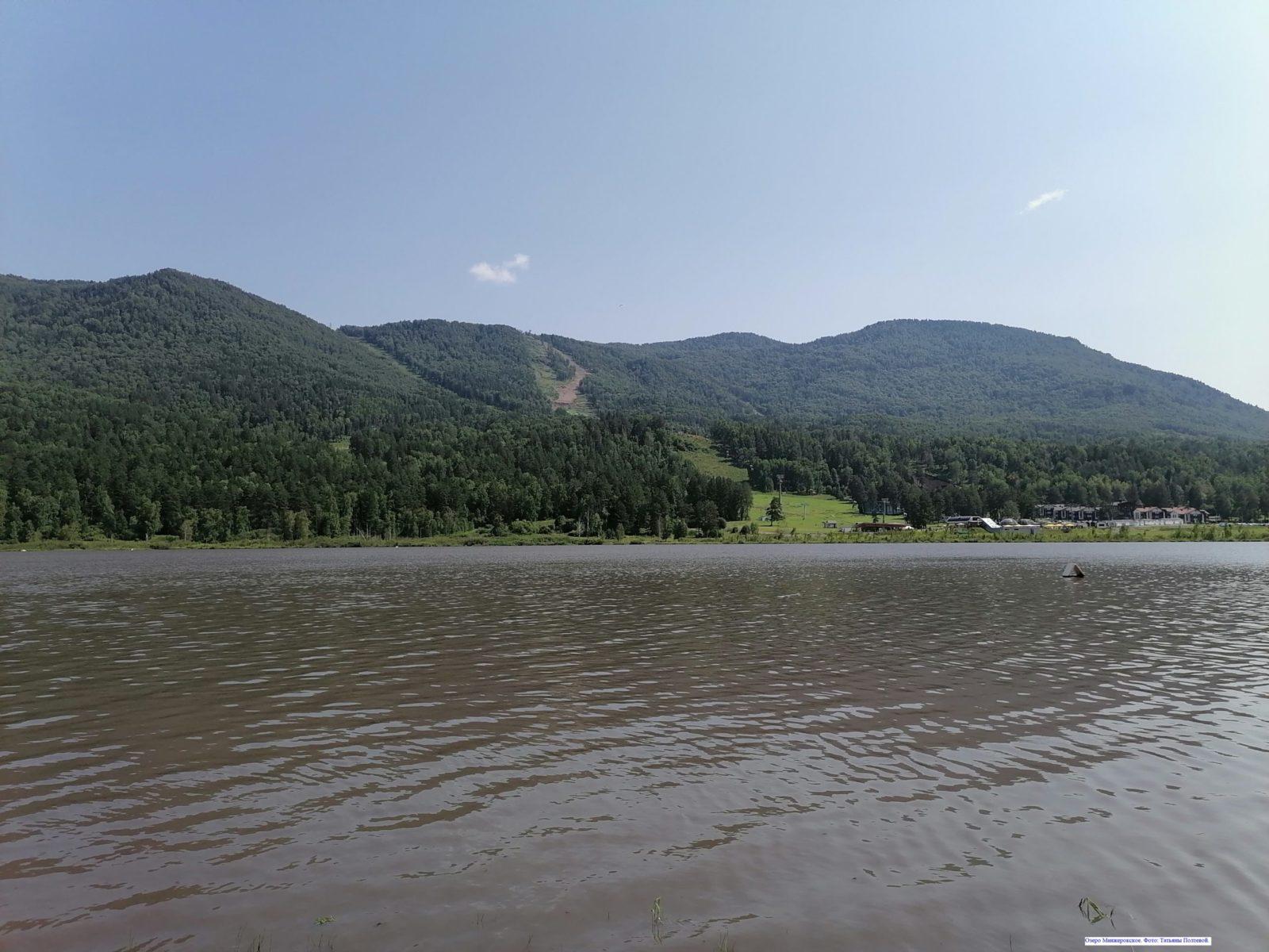 Озеро Манжерокское.