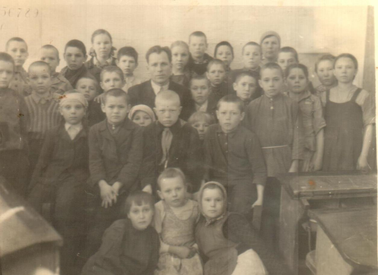 Ученики Камлакской школы. 1951 г.