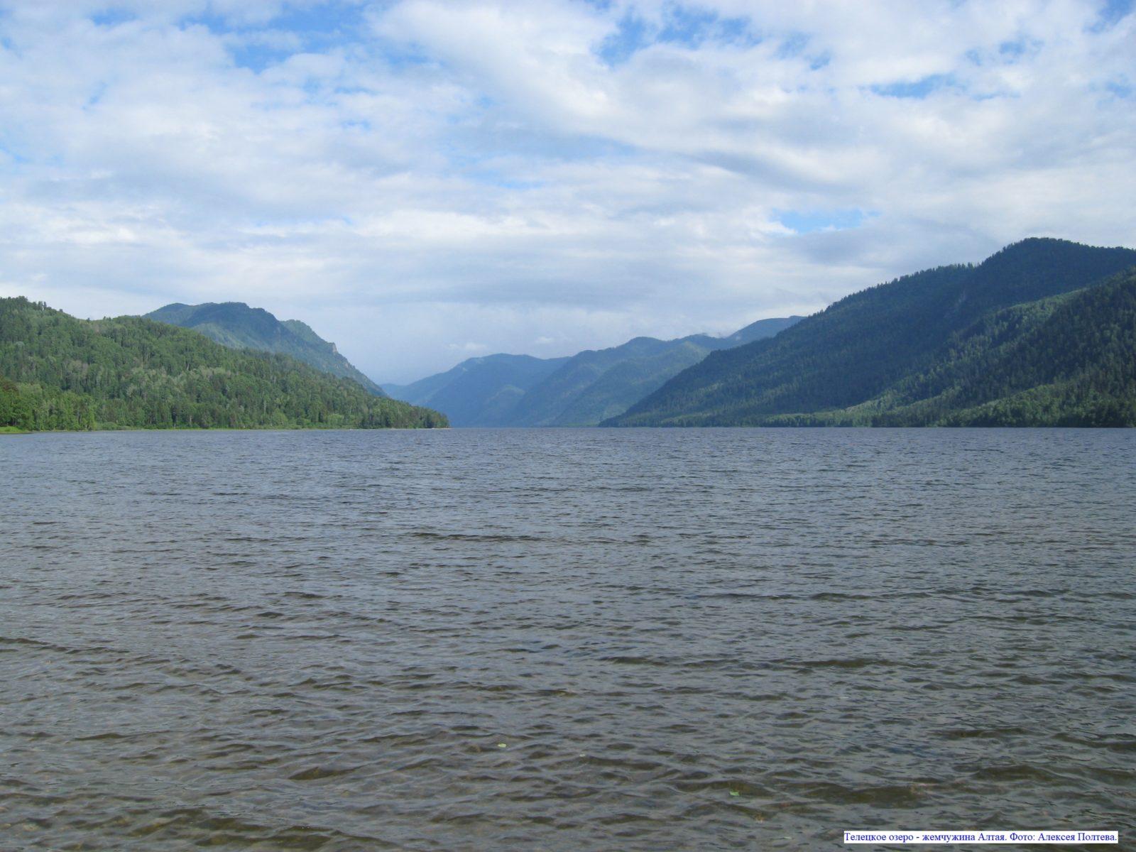 Телецкое озеро - жемчужина Алтая.